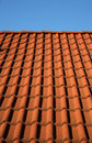Red roof tiles Royalty Free Stock Photo