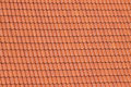 Red roof tiles background details Stock Photography