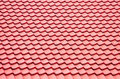 Red roofing background Stock Images