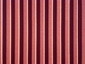 Red roofing from metal plate new stainless Royalty Free Stock Image