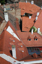 Red Roofs - Sibiu Royalty Free Stock Image