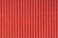 Red rural wooden wall background texture ordinary scandinavian architecture fragment photo Royalty Free Stock Photos