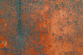 Red rust background , rusted metal texture Royalty Free Stock Photo