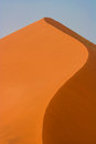Red sand dune in the Namib desert Stock Photos