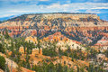 Red sandstone hoodoos in Bryce Canyon National Park in Utah, USA Royalty Free Stock Photo