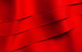 Red satin ribbons Royalty Free Stock Photos