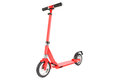 Red scooter isolation Royalty Free Stock Photo