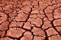Red scorched earth Royalty Free Stock Photo