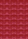 Red seamless cat background Royalty Free Stock Photography