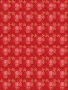 Red seamless christmas pattern with snowflakes Royalty Free Stock Photo