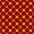 Red seamless geometrical pattern this is file of eps format Royalty Free Stock Photo