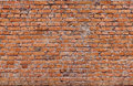 Red seamless only horizontal bricks texture Royalty Free Stock Photography
