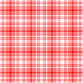 Red Seamless Plaid Royalty Free Stock Images