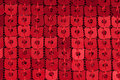 Red Sequin Royalty Free Stock Photo