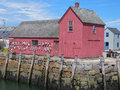 Red Shack Royalty Free Stock Photos