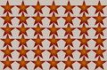 Red Shaded Blurred Star Pattern on white background Seamless Illustration. Modern Design. Can be used for business, website and