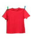Red shirt Royalty Free Stock Photo