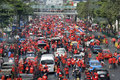 Red Shirt Protest - Bangkok Stock Photos