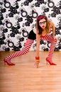 Red Shoe Dancer Royalty Free Stock Photo