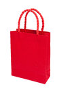 Red shopping bag Royalty Free Stock Photo