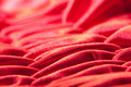 Red Silk closeup Royalty Free Stock Image