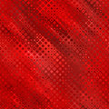 Red silky retro halftone Royalty Free Stock Photography
