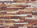 Red Slate Stone Wall background Texture Royalty Free Stock Photo