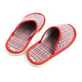 Red slippers Royalty Free Stock Photo