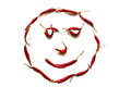 Red smiley face Royalty Free Stock Photo