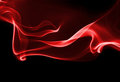Red smoke wave Royalty Free Stock Photo