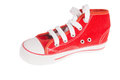 Red sneaker Stock Photography