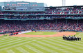 Red Sox et Yankees Fenway 2001 Photo libre de droits