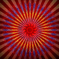 Red spirutal sun background Royalty Free Stock Photos