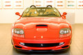 Red sport car Ferrari Royalty Free Stock Photography