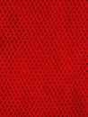 Red sports jersey mesh uniform Royalty Free Stock Image