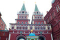 Red square in moscow russia the famous Stock Photos