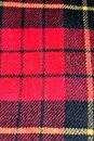 red square pattern tartan wool texture background Royalty Free Stock Photo