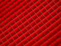 Red squares pattern Stock Photography