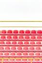 Red Stadium Seats Royalty Free Stock Photo