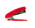 Red stapler Royalty Free Stock Photo