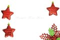 Red star for christmas background merry Royalty Free Stock Photo