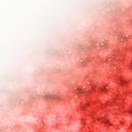 Red starry background abstract sparkly with copy space Stock Photo