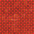 Red starry tiles Royalty Free Stock Photography