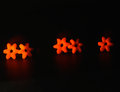 Red stars objects background photograph beautiful object Royalty Free Stock Photos