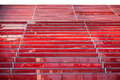 Red steps glass texture background Stock Photos