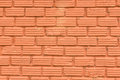 Red stone wall texture and background Royalty Free Stock Images