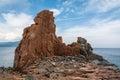 Red stones of Arbatax Royalty Free Stock Photo