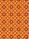 Red Style Vector Pattern Stock Photography