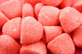 Red sugar candy sweets Royalty Free Stock Image