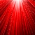 Red sun blast Royalty Free Stock Photo
